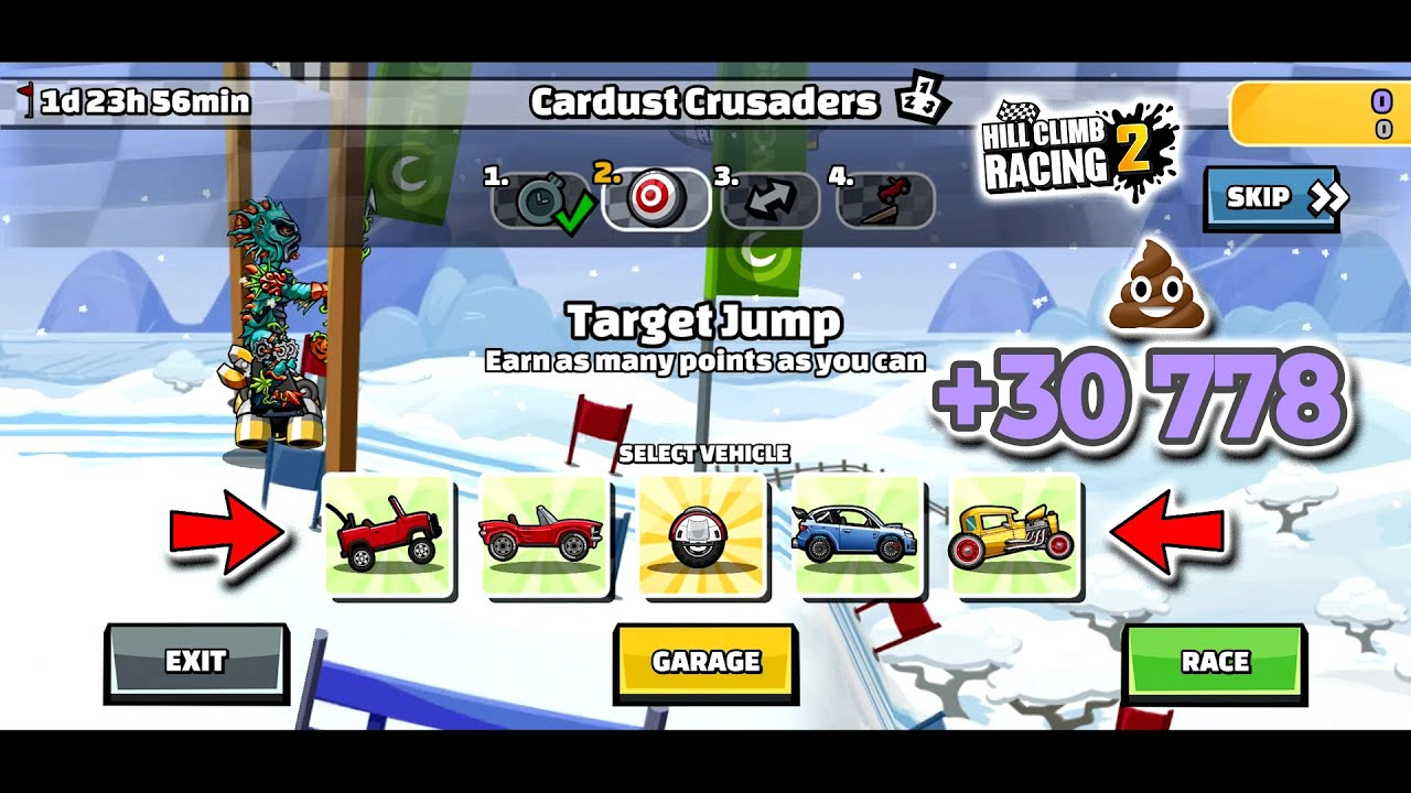 Hill Climb Racing 2 - 30778 points in Cardust Crusaders New Team Event