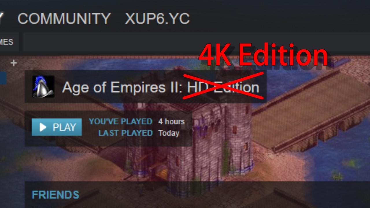 Age Of Empire Ii 4k Mod Tutorial Youtube