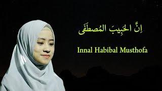 INNAL HABIBAL MUSTHOFA LIRIK & TERJAMAHAN Versi Ai Khodijah