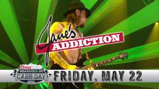 presenting the 2015 coors light carb day performers janes addiciton oar and 38 special