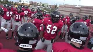 "Best Pre Game Team Chants Eaglecrest Raptors Football ""We Ready"""