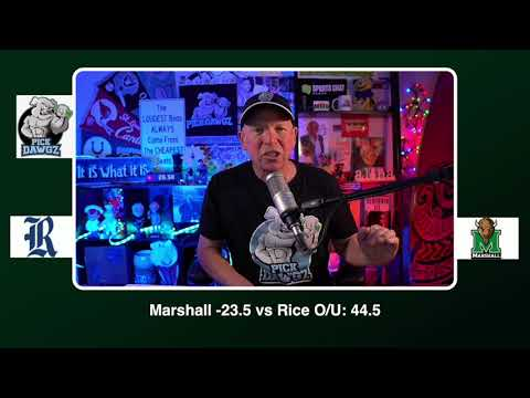 Marshall vs Rice 12/5/20 Free College Football Picks and Predictions CFB Tips