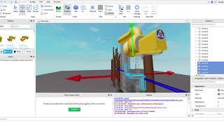 How To Build A ACA Allertor Siren In Roblox! (Mic Fail D:)