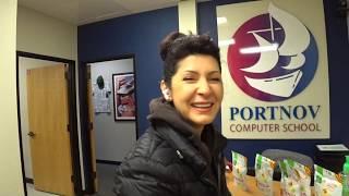 В трудных условиях оперирует Portnov Computer School, но никто не жалуется