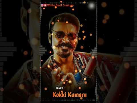 Kokki Kumaru Theme Music || Whatsapp Status || Dhanush || Tamil (with Free Download Link)