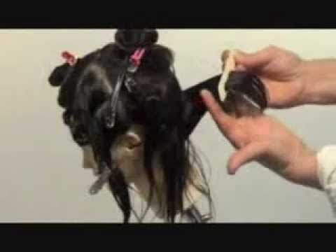 Démonstration coupe-coiffure // Haircut Demo by YLF - YouTube