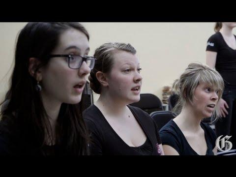 Making beautiful music: a capella choir