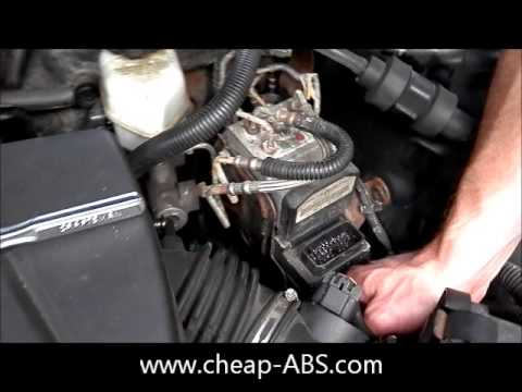 2001 Dodge Caravan Tcm Wiring Diagram Double Light Switch Pontiac Grand Prix Abs Module Removal - Youtube