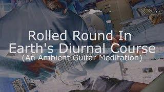 Ambient Guitar Album Track 3 - Rough Mix (Telecaster Blacktop Baritone, EBow, Avid Eleven Rack)