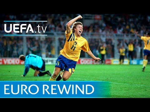 EURO 1992 Highlights: Sweden 2-1 England