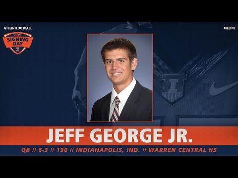 Jeff George, Jr. - #Illini Signing Day 2015