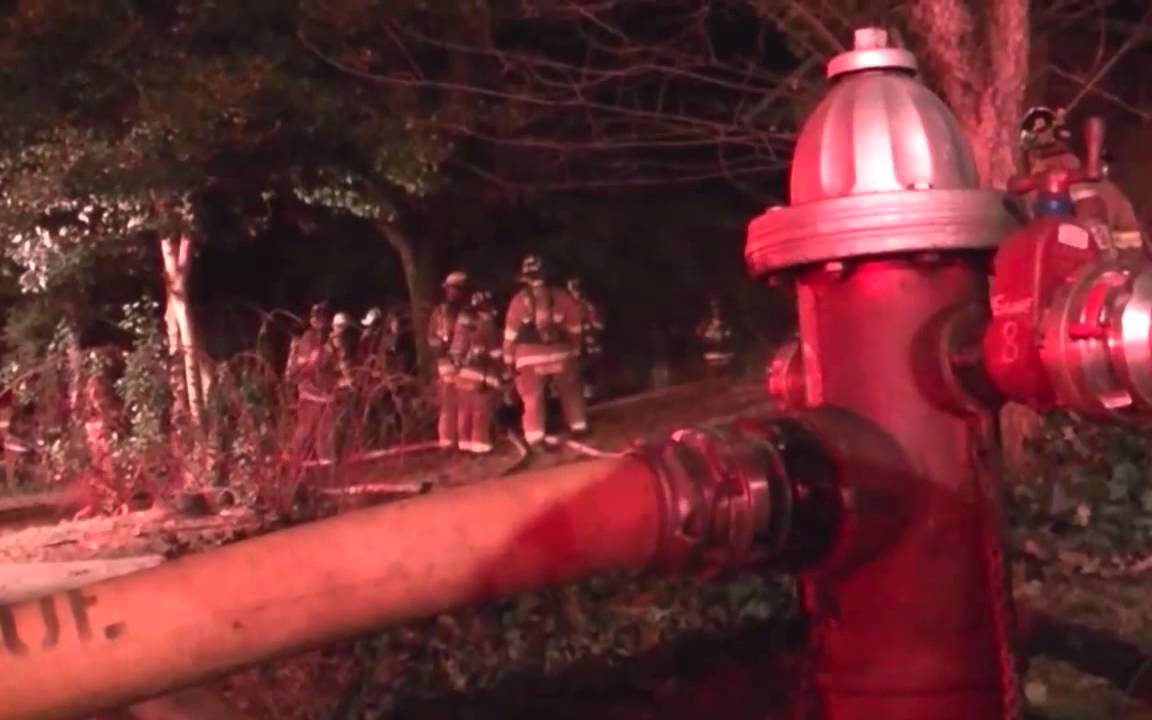 3811 Forest Grove Dr House Fire Northern Virginia Fire Buffs Youtube