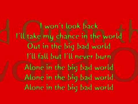 Diggy Simmons Ft Colin Munroe - Big Bad World With Lyrics