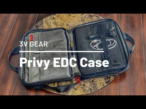 3V Gear Privy Personal Essentials EDC Case Review – Minimal and Budget-Friendly Tech Organizer