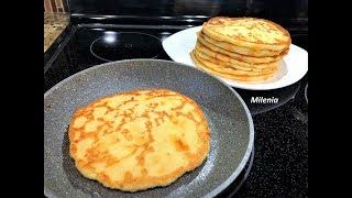 Быстрый Завтрак ЛЮБИМЫЕ ЛЕПЕШКИ с пылу с жару  обожают в семье.