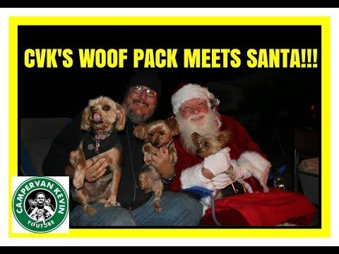 cvk's-woof-pack-meets-santa!