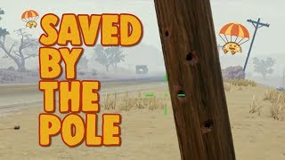 Saved by the Pole - chocoTaco PUBG Gameplay