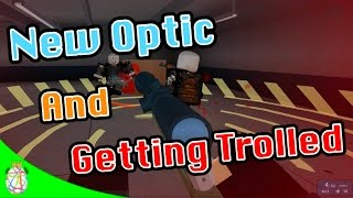 Roblox Phantom Forces - A New Optic and Getting Trolled