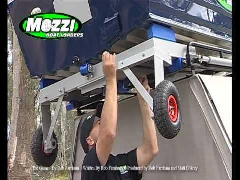 Mozzi Boat Loader - Loading Up - YouTube