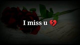 I miss u 💔 Very sad heart touching shayari 💔 Sad hindi shayari