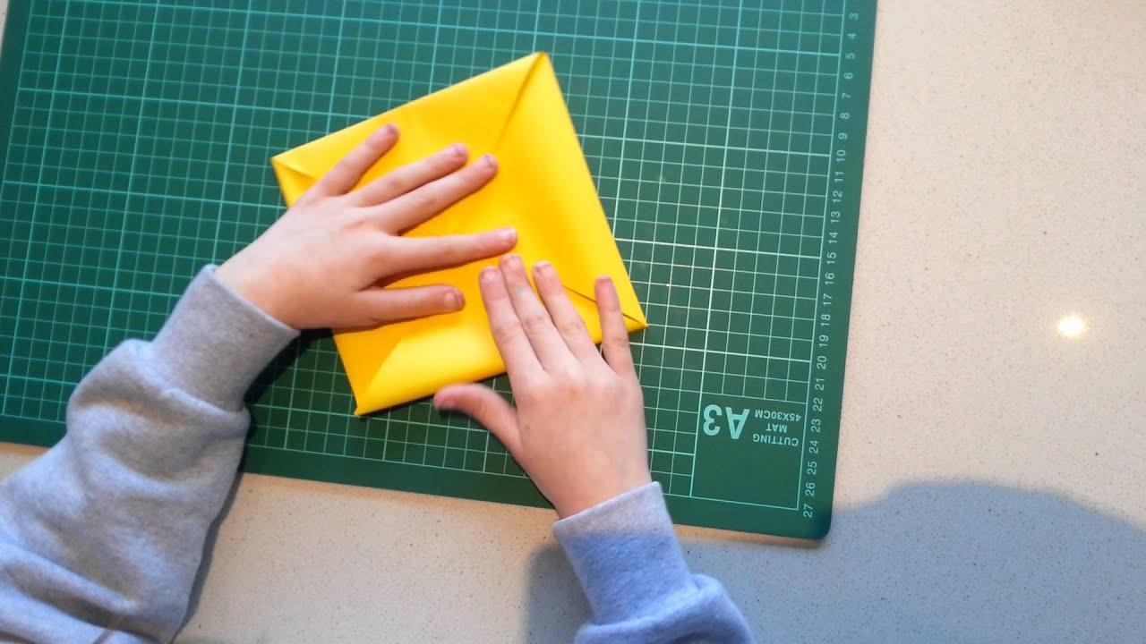 Origami Met Kaat Een Zonnebloem Youtube