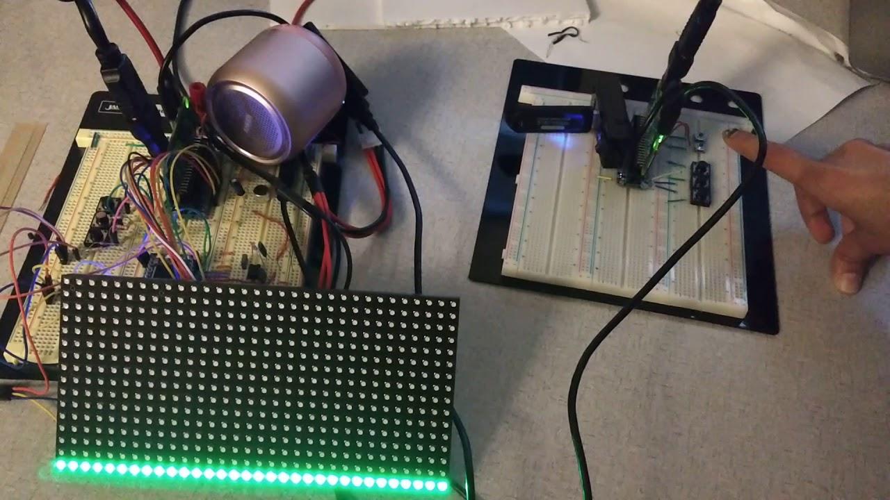 Audio Spectrum Analyzer for a Bluetooth Speaker using MBED