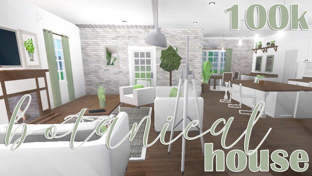 Roblox Welcome To Bloxburg Botanical House 100k Youtube