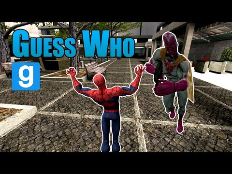 Adivina Quien!! SuperHeroes W/ Corvus Clan - Garry's Mod - Guess Who