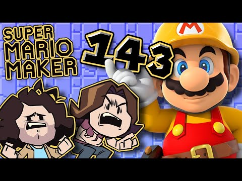 Super Mario Maker: Can't Get Enough of That Sugar Crisp - PART 143 - Game Grumps