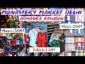 Monastery Market Delhi    Market For Men's,Women's Fashion Market   Branded Clothes Zara , Mango