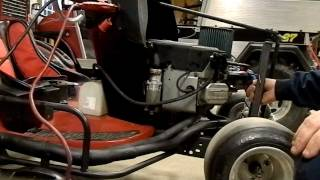 Racing Mower Outlaw Super Modified