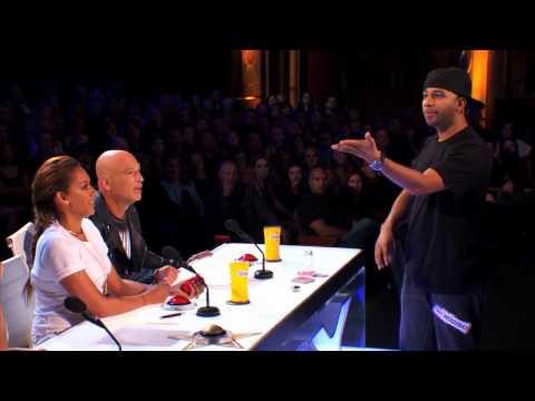 Видео, Фокусник Smoothini на Американском Шоу Талантов Americas Got Talent