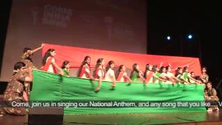 Dance Performance by Sehwag International School students on Independence Day
