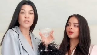 Kourtney Kardashian and Addison Rae Recreate ICONIC 'KUWTK' Scene on TikTok