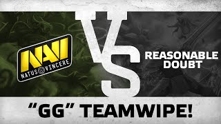 gg teamwipe by na vi vs reasonable doubt pgl pro am