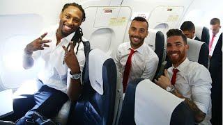 Η πτήση του Ολυμπιακού για τo Βελιγράδι! / Olympiacos' flight to Belgrade!