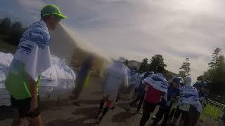 原村移住、八ヶ岳別荘生活現実、水がおいしい(松本マラソンゴール後のタオル) マラソンタオル 検索動画 7