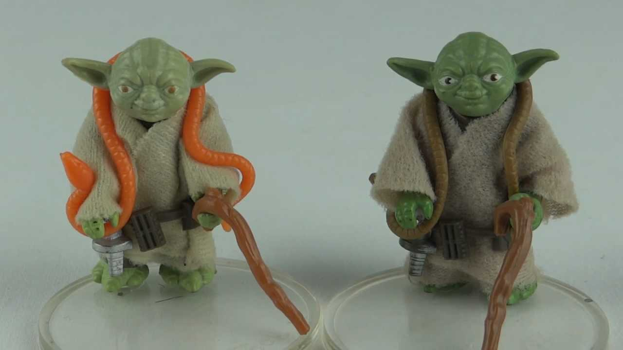 Vintage Star Wars Yoda 91