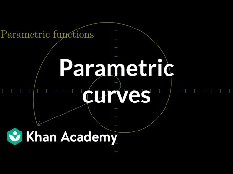Parametric curves | Multivariable calculus | Khan Academy