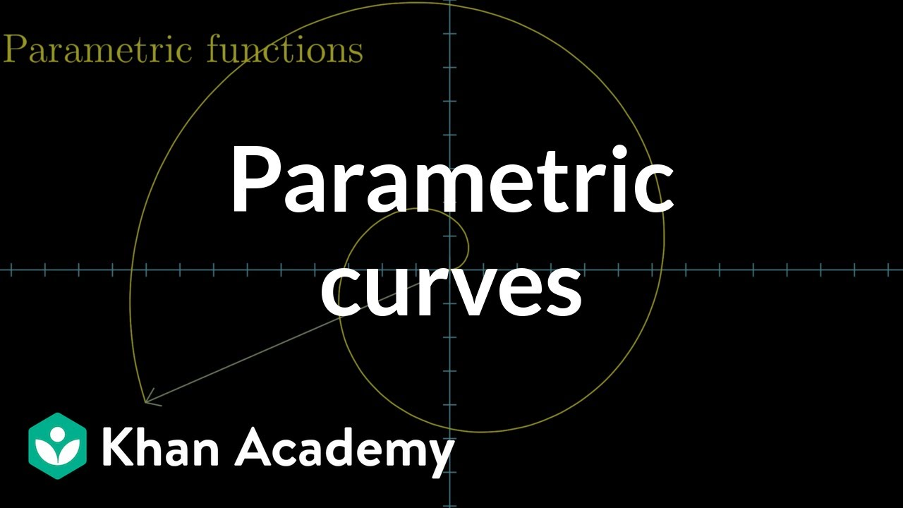 Worksheets Parametric Equations Worksheet parametric curves multivariable calculus khan academy youtube parametric
