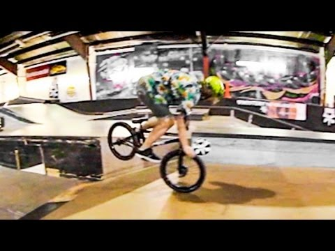 BMX Erik Elstran & Seth Peterson vs Winter