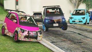 +7.000 MINI COCHES! - CARRERA GTA V ONLINE - GTA 5 ONLINE