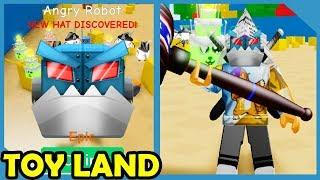 Neues Update! Spielzeugland! 80 Millionen Max Power Hammer! - Roblox Unboxing Simulator