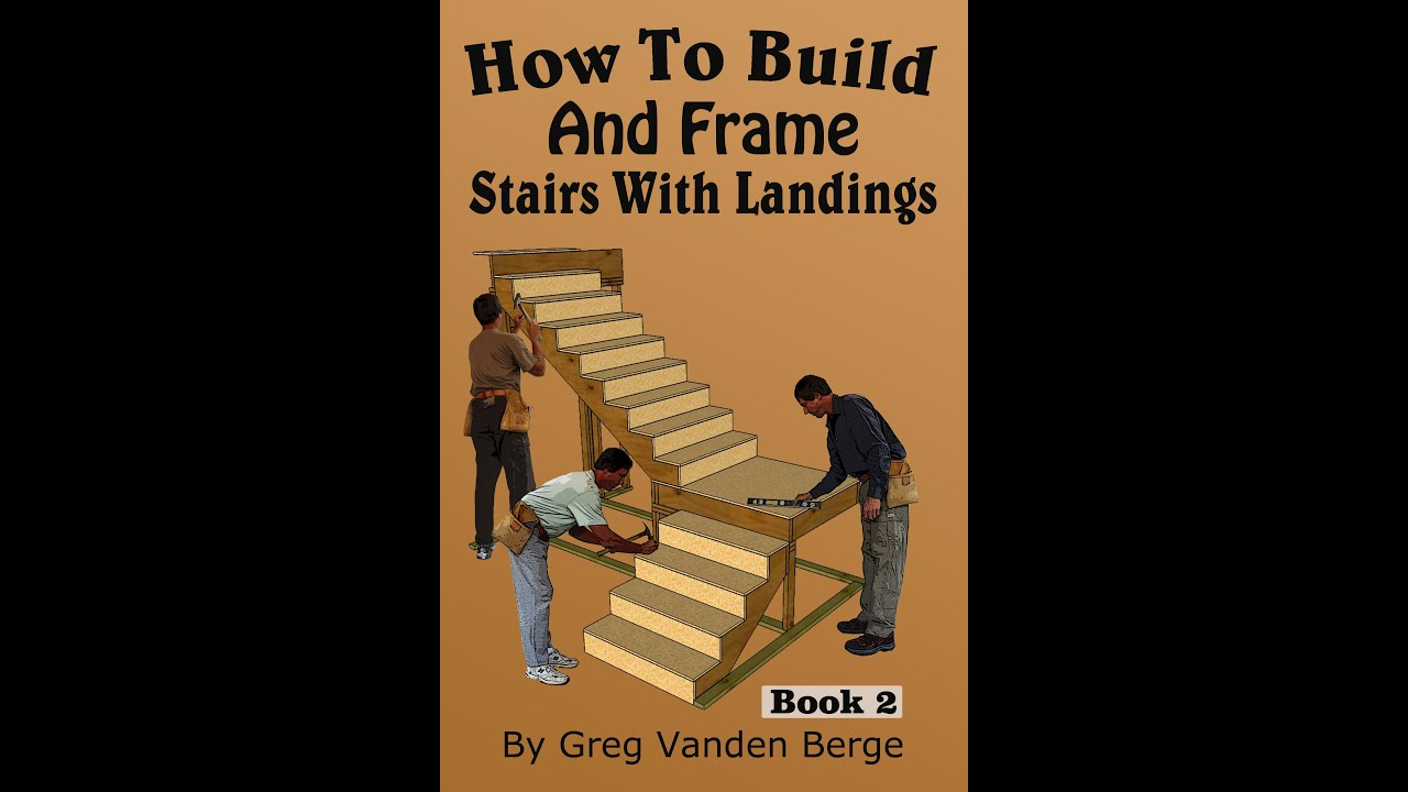 Kellertreppe Selber Bauen How To Build And Frame Stairs With Landings Youtube