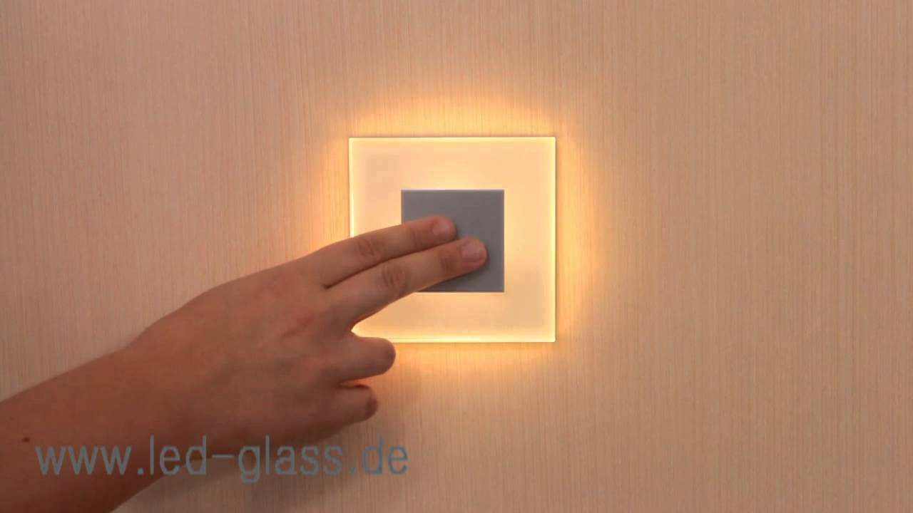 SUN LED Wall Light DIMMABLE   How It Works   Demonstration