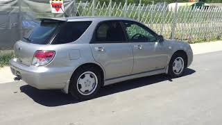 Видео-тест автомобиля Subaru Impreza (GG2-071379, Ej152, серебро, 2005г)