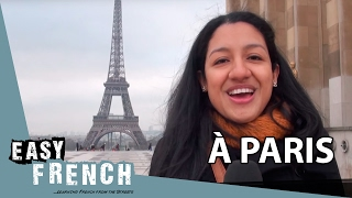 Easy French 1 - à Paris!(Learn French with Easy French: In this first episode of Easy French Silia asks people in Paris about what they love about their city :D ▻ MORE VIDEOS OF EASY ..., 2014-01-14T22:41:00.000Z)