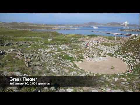 Greece, Delos Island - Birthplace of Apollo