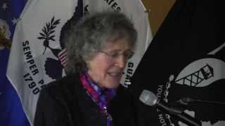 Penny Colman Speaks at the 2014 Women of WWII Event in Hackensack.