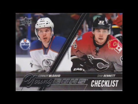 2 Connor McDavid Young Guns – 2 Box Breaks – 2015/16 Upper Deck Series 1